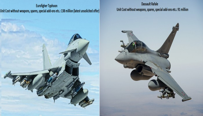 Rafale Vs Eurofighter – HD Wallpapers