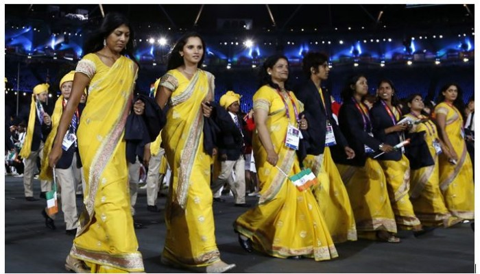 No, New York Times- Wearing Saree and promoting Indian Textiles is not communal
